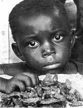 Poor hungry child - Africa