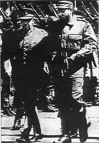 Castro alongside Pinochet in Chile berfor the coup, a tragic reminder of revisionist shortcomings