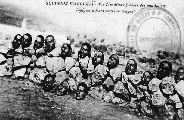 French colonialist atrocities included beheadings long before ISIS existed