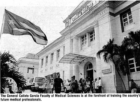 Calixto Garciá Medical training school in Havana