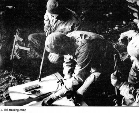 IRA Ireland helping the ANC military struggle with training during the anti-apartheid war