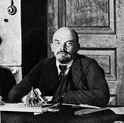 Lenin - in office 1918