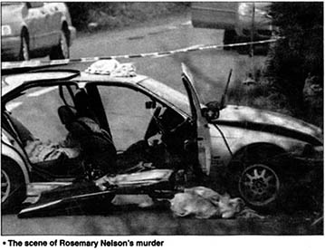 Rosemary Nelson Irish solicitor assassinated by the British