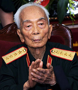 Giap in recent years